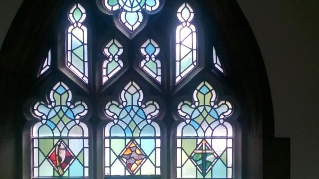 St Andrews Sparrow Window